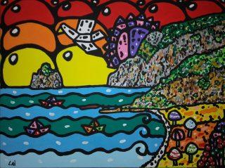Luigi Lai e l'anima Neo Pop dei suoi quadri
