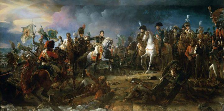 Napoleone alla Battaglia di Austerlitz dipinto dell'artista francese François Gérard